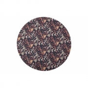 BePureHome - Aquarel Fleur Tapis marron Ø20cm