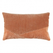 BePureHome - Coussin en velours Welts Rougir
