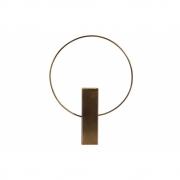 BePureHome - Ring Vase Laiton Métal 40 cm