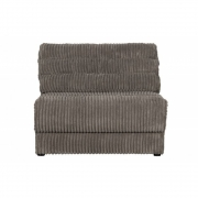 BePureHome - Date 1-Sitzer Sofa Element Ribcord