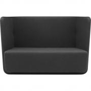 Softline - Basket Sofa niedrige Rückenlehne
