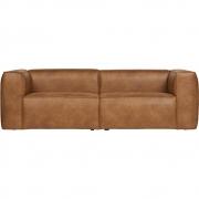 Woood - Bean Sofa 3,5-Sitzer Cognac