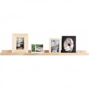 vtwonen - Bord Regalbrett für Fotobilderrahmen Eiche 100 cm