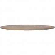 vtwonen - Panel Tischplatte Eiche rund