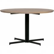 vtwonen - Panel Cross 4-leg Tisch Eiche rund