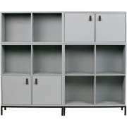vtwonen - Lower Case Schrank inkl. Metall Gestell Beton Grau