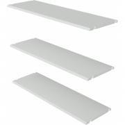 vtwonen - Rack Regalboden Kiefer weiß, 3er Set