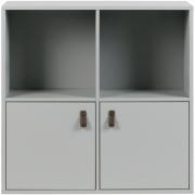 vtwonen - Lower Case Schrank Four Mixed Beton Grau