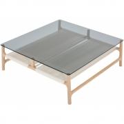 Gazzda - Fawn Couchtisch 90 x 90 cm / Grau