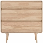 Gazzda - Fawn Drawer, White Oak