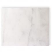 HKliving - Marmor Schneidebrett weiß poliert
