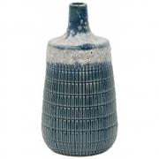 HK Living - Céramique Vase de fleurs M Bleu