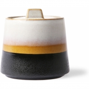 HKliving - Ceramic 70's Zuckerdose