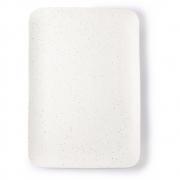 HK Living - Bold & Basic Ceramics: Speckled Tray White