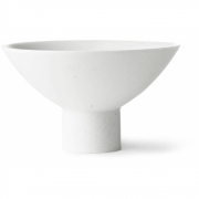 HK Living - Athena Ceramics: Porcelain Bowl On Base