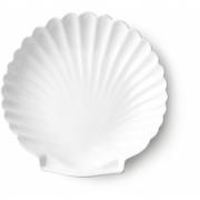 HK Living - Athena Ceramics: Shell Tray White L