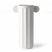 HKliving - Vase en céramique blanche grec C