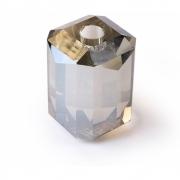 HKliving - Kristallglas Kerzenhalter Grau Diamant