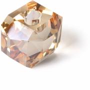 HKliving - Kristallglas Kerzenhalter Bernstein Diamanten