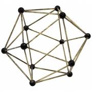 HKliving - Molecular Messing Ornament