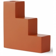 HK Living - Concrete Stairs Candle L Orange