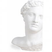 HK Living - Plaster Statue Apollo