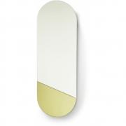 HKliving - Spiegel oval m Gold