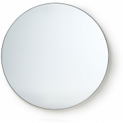 HKliving - Runder Spiegel Metallrahmen 120cm