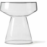 HKliving - Glas Beistelltisch