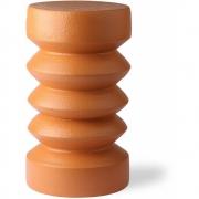 HKliving - Beistelltisch aus Steingut Terrakotta Orange
