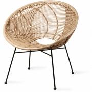 HKliving - Rattan Ball Lounge Chair Natur
