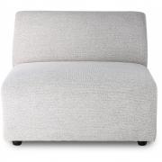 HKliving - Jax Couch: Element Mitte, Sneak, Hellgrau
