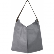 HKliving - Leather Bag Elephant Grey
