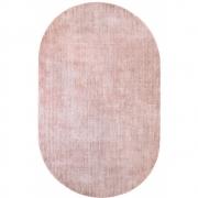 HKliving - Oval Viscose Rug Nude