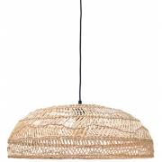 HKliving - Wicker Hanging Lamp Flat Natural (60x60x20)