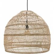 HKliving - Lampe suspendue en osier naturel Boule M