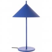 HKliving - Metalldreieck Tischlampe M Matt Cobalt