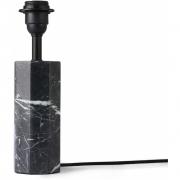 HKliving - Hexagon Tisch Lampbase Schwarz Marble