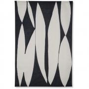 HKliving - Abstract Bild Schwarz Weiß Dekoration