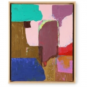 HKliving - Abstract Bild Mehrfarbig 40x50 cm Dekoration