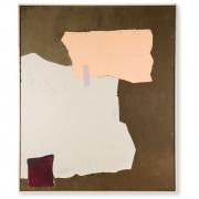HKliving - Abstract Bild Mustard Nude 100x120 cm Dekoration