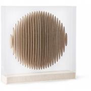 HKliving - Wooden Circle Art Frame Dekoration