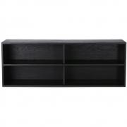 HKliving - Modular Cabinet, Black, Shelving Element A