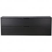 HKliving - Modular Cabinet, Black, Drawer Element C