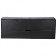 HKliving - Modular Cabinet, Black, Drawer Element D