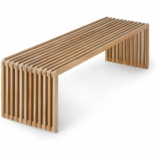 HKliving - Slatted Bank Teak