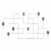 Armoire chêne blanc Underground - Gejst