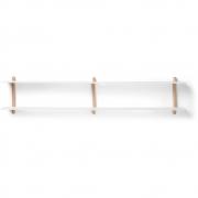Gejst - Nivo Shelf C Light Oak White