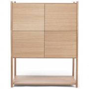 Gejst - Sceene Bookcase E Light Oak