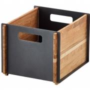 Cane-line - Box Aufbewahrungskasten Teak, Lavagrau